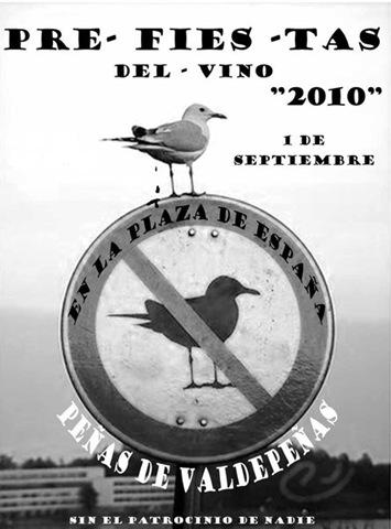 Cartel Pre-Fiestas del Vino